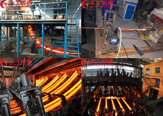 Energy Saving CCM Continuous Casting Machine Easy For Maintenance
