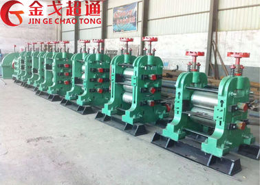 High Speed Steel Rolling Machine , 5 Tons / Hour Steel Rolling Mill Machinery